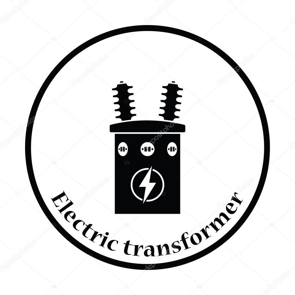 Icono De Transformador Electrico