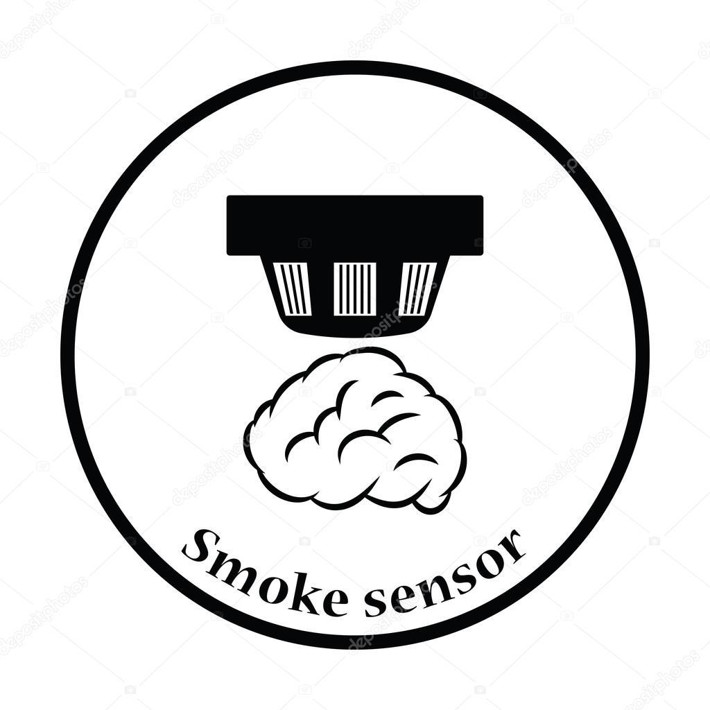 Smoke Sensor Icon