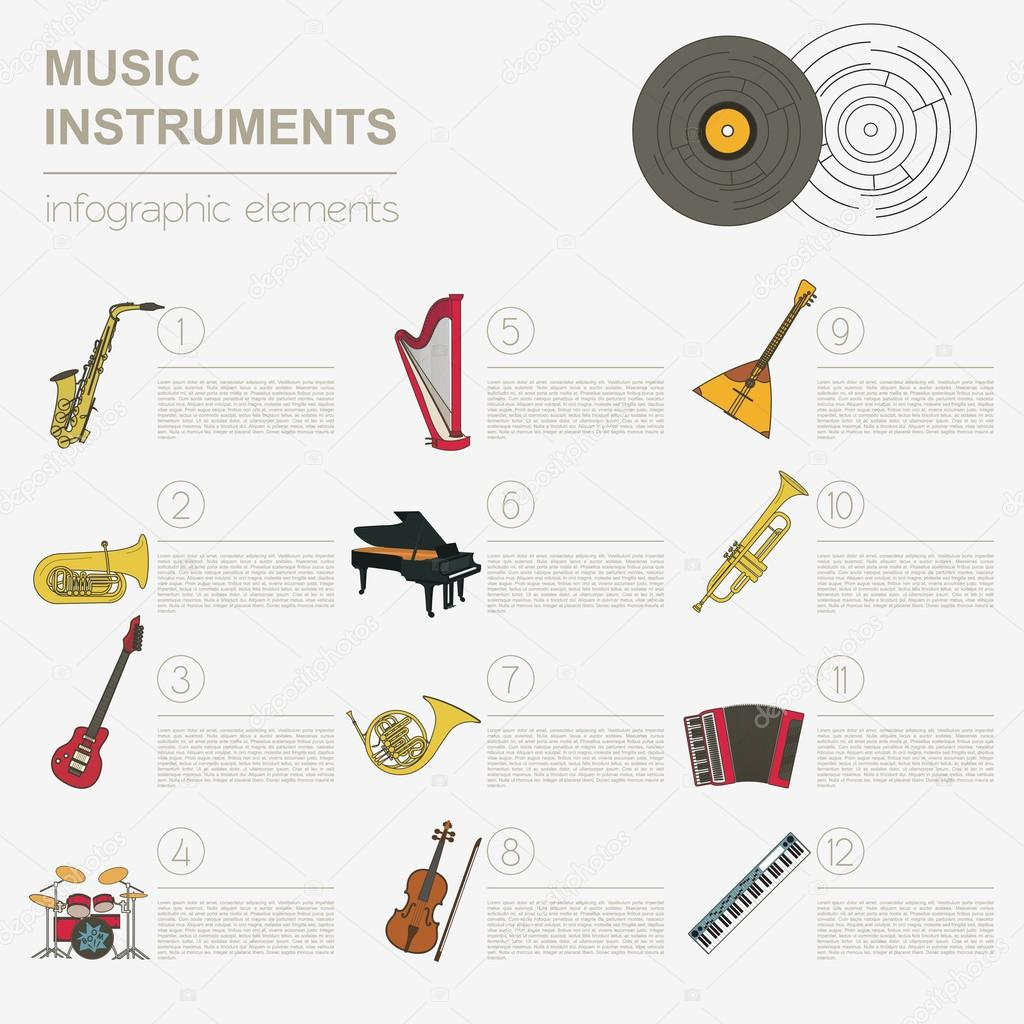 Worksheets Types Of Musical Instrument