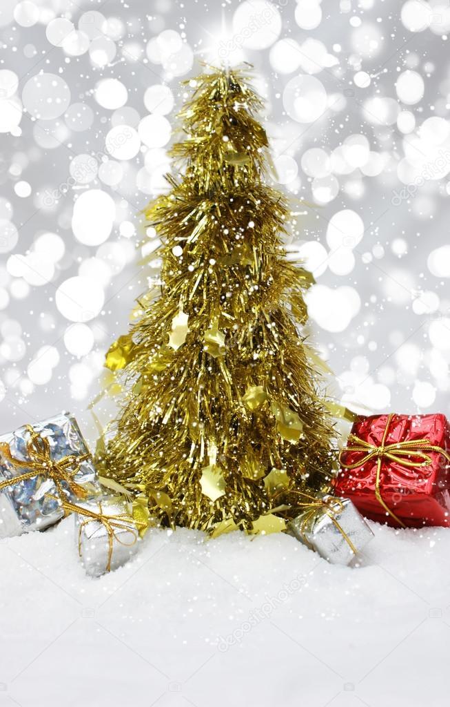 Lametta Weihnachtsbaum Brauch