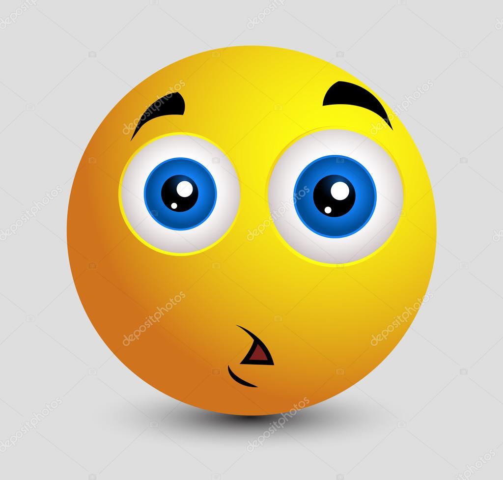 Choque Triste Emoji Smiley Emoticone