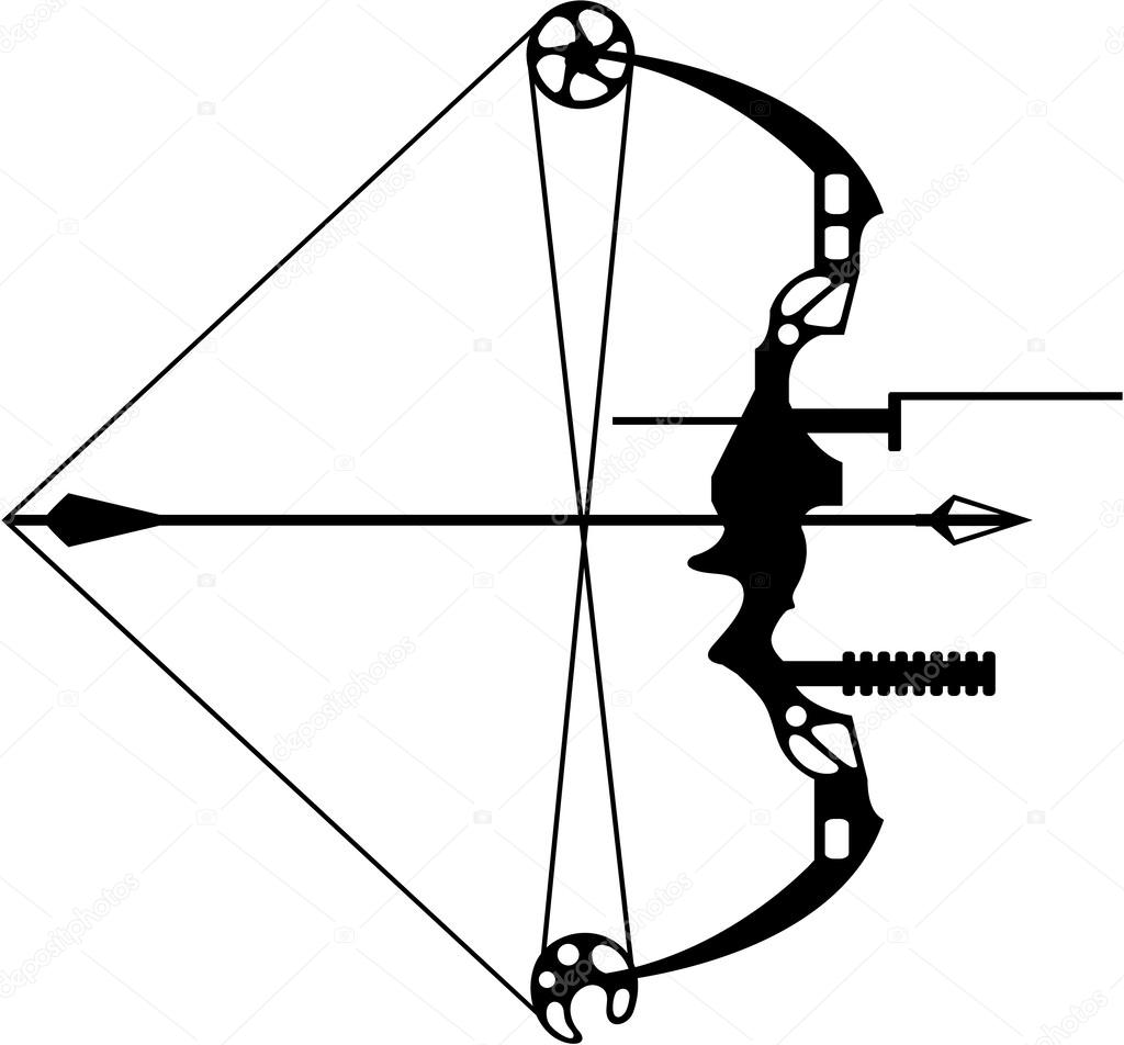Fleche Et Moderne De Chasse A L Arc