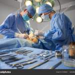 Doctor Assistant Performing Aesthetic Surgery Operating Room Various Stainless Steel Stock Photo C Anatoliy Gleb 431480224