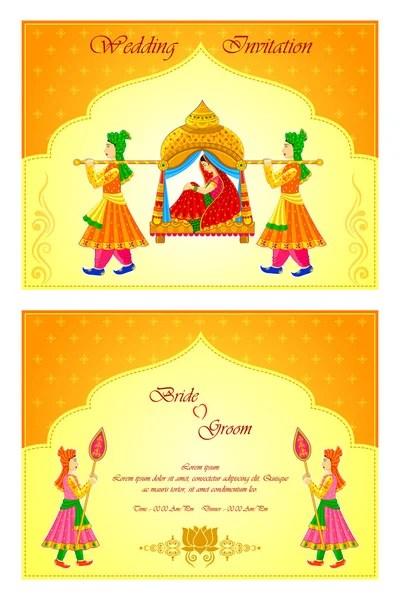 indian wedding invitation illustrations
