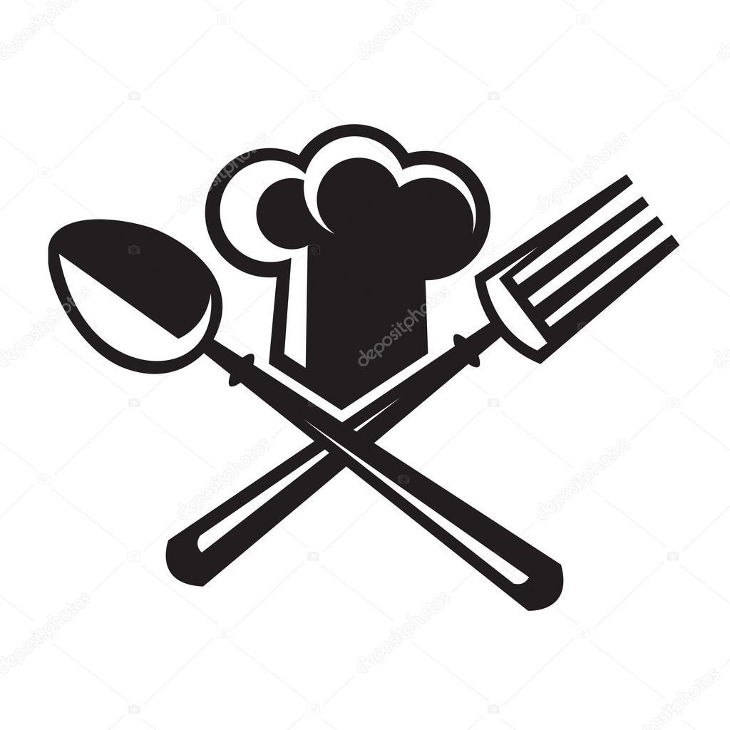 Gorro De Chef Con Cuchara Y Tenedor