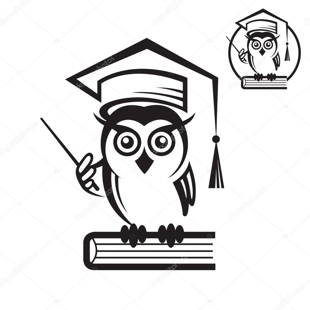 School Owl Icon