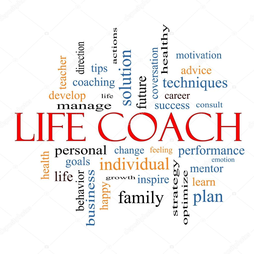 Life Coach Word Cloud Concept — Stock Photo © mybaitshop ...