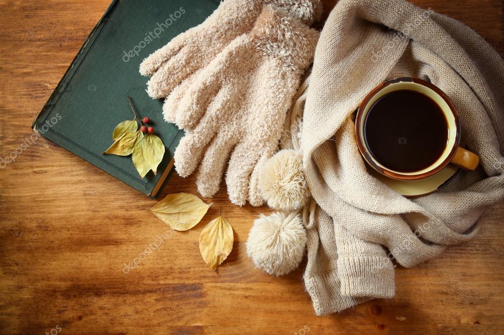 Risultati immagini per autunno e caffè