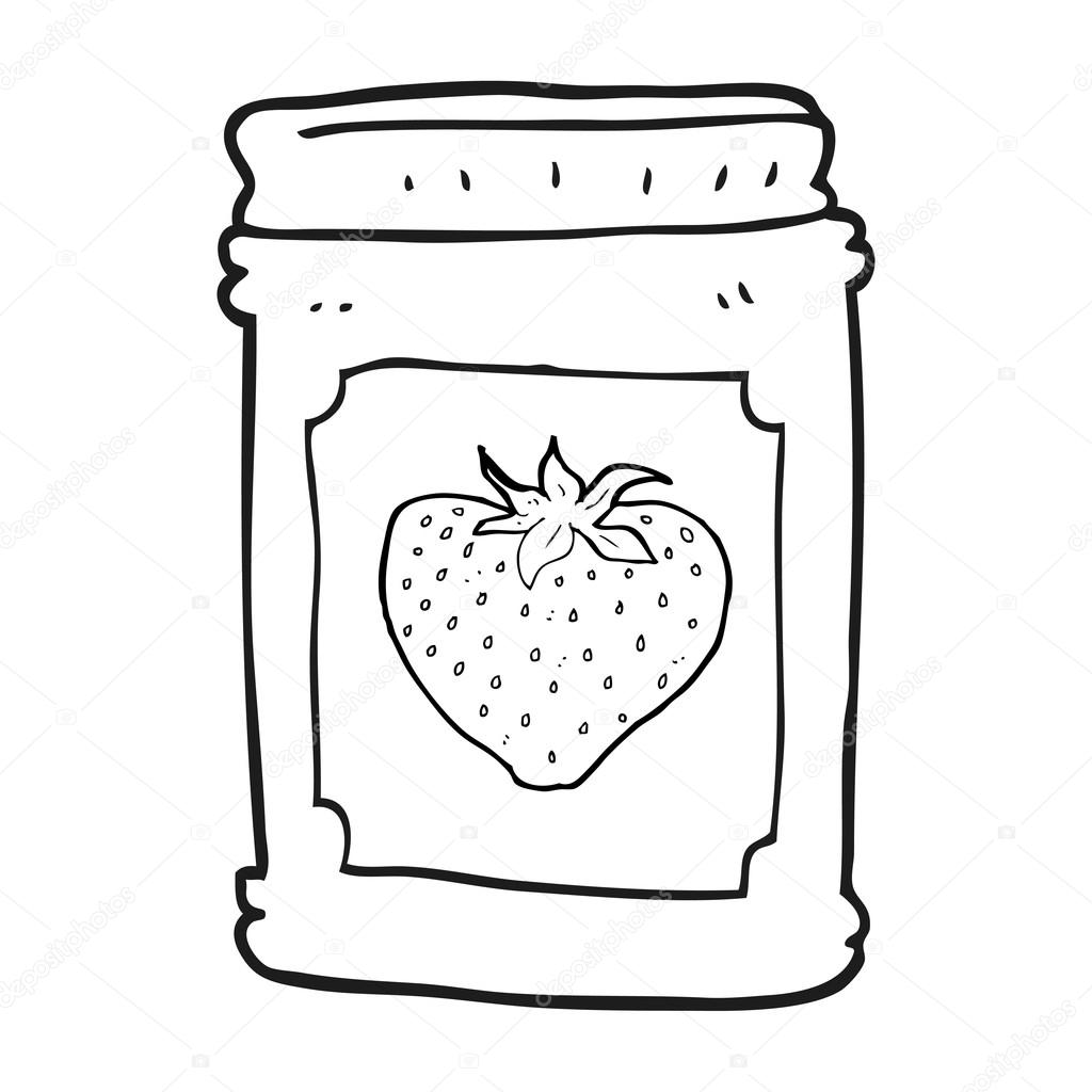 Clipart Jar Black And White