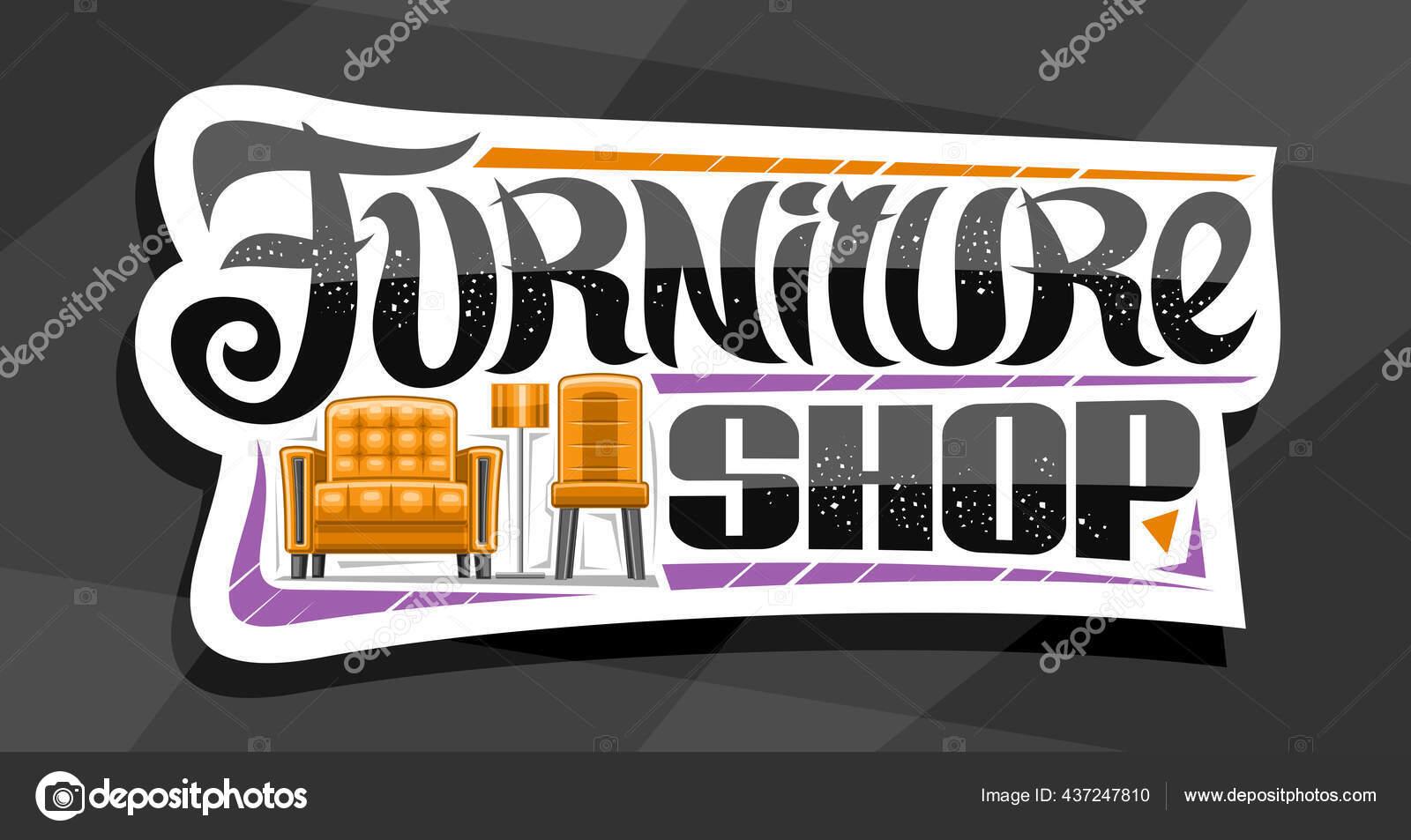 https fr depositphotos com 437247810 stock illustration vector logo furniture shop white html