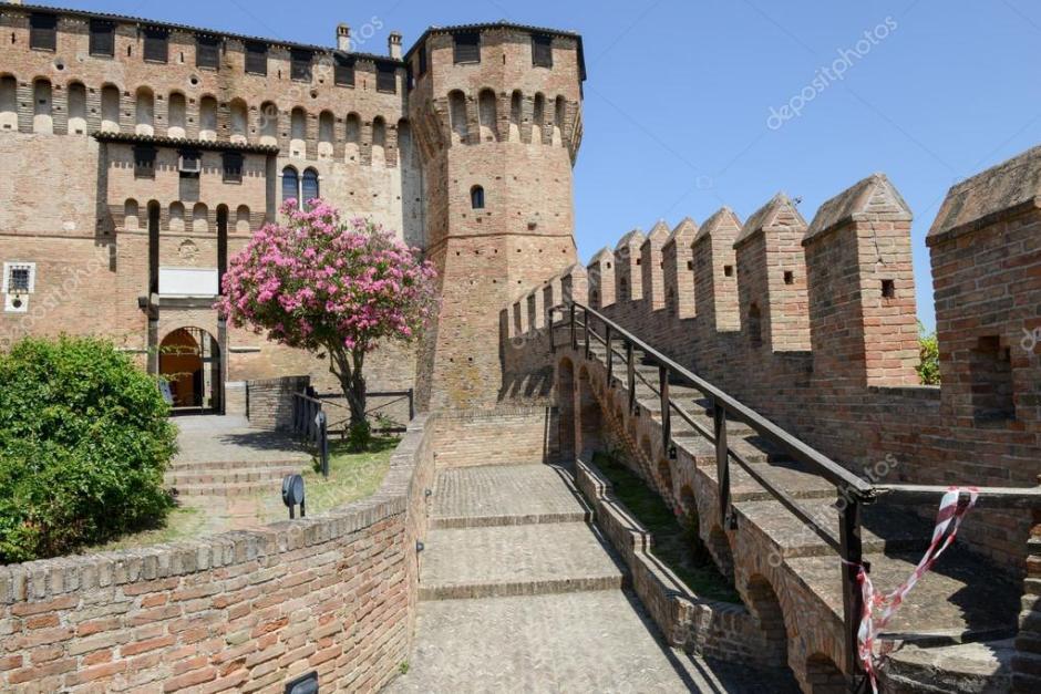 Castelo de Gradara, Itália