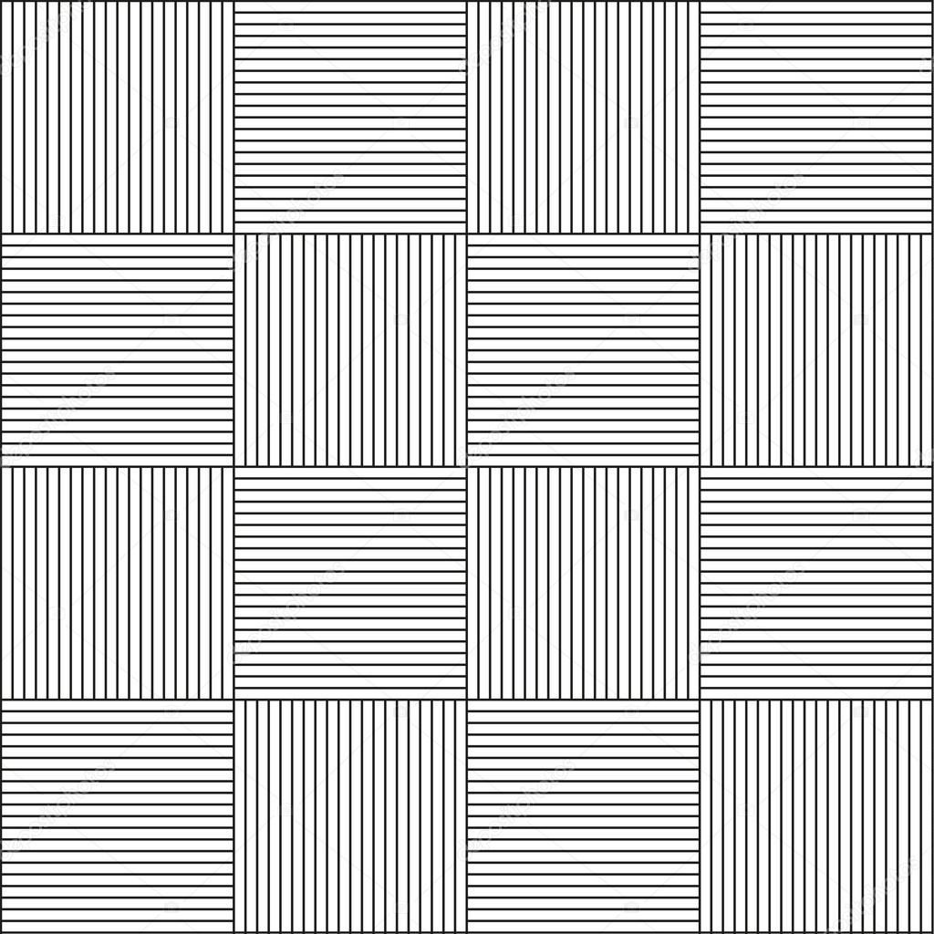 Seamless Horizontal And Vertical Line Pattern
