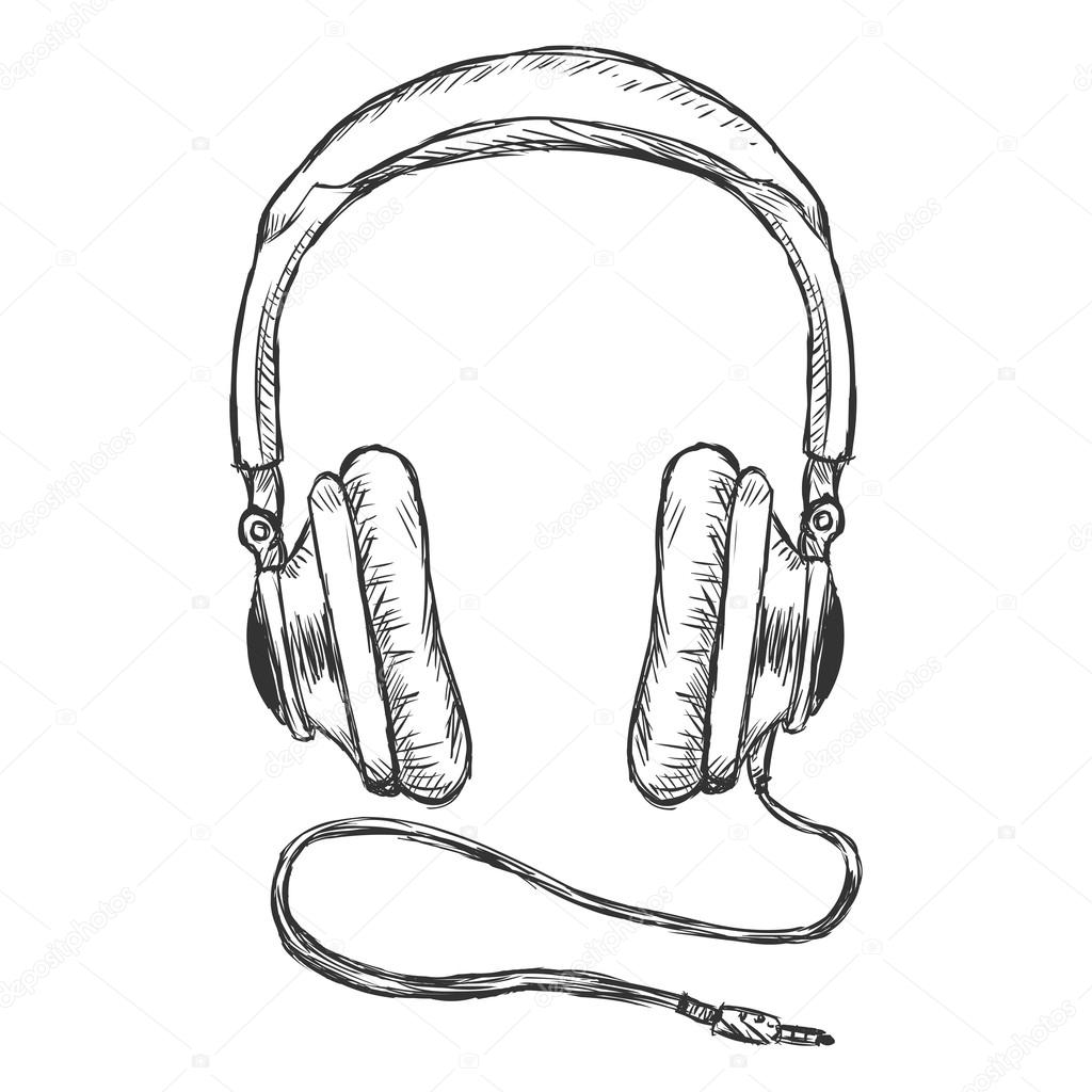 Circumaural Headphones With Wire