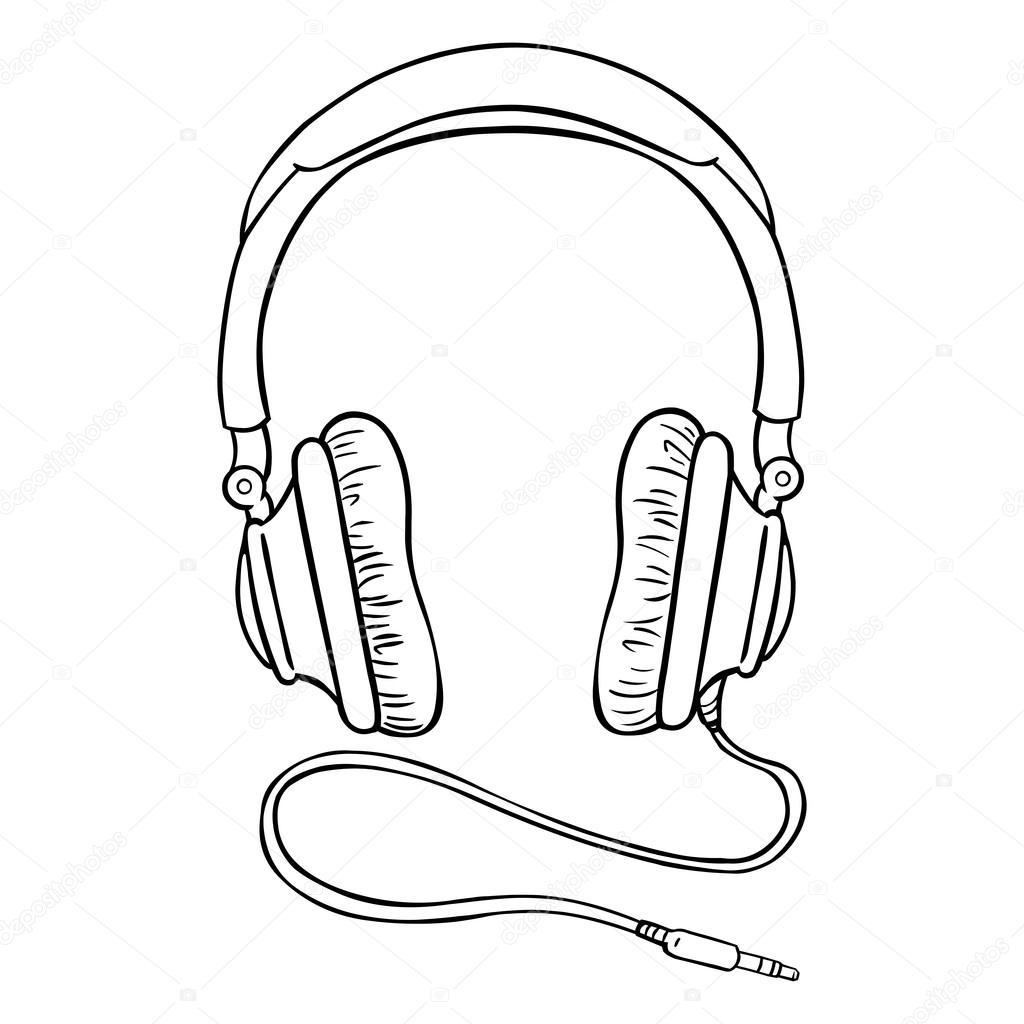 Circumaural Headphones With Wire