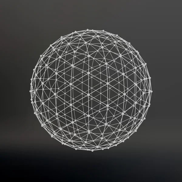 Wireframe Globe Stock Vectors Royalty Free Wireframe