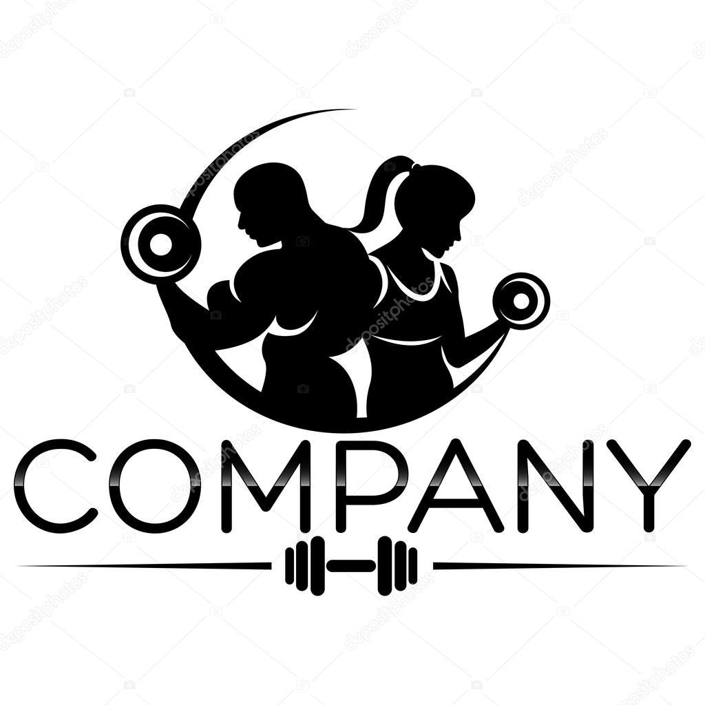 Example Vector Bodybuilding Logo