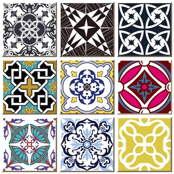vintage retro ceramic tile pattern set collection 029 stock images page everypixel