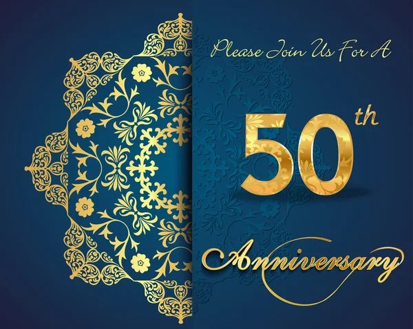 ᐈ 50th birthday invitation templates