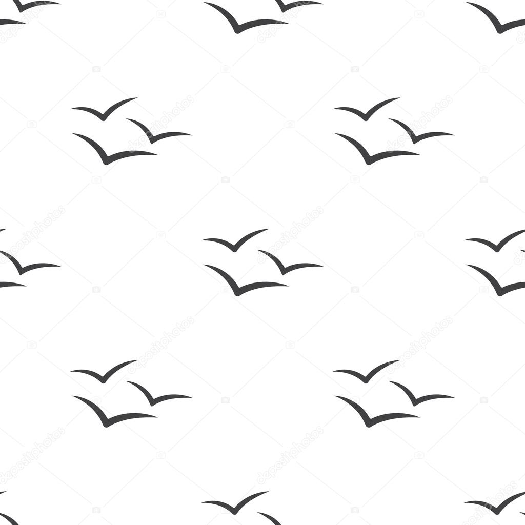 Illustration Of Seagull