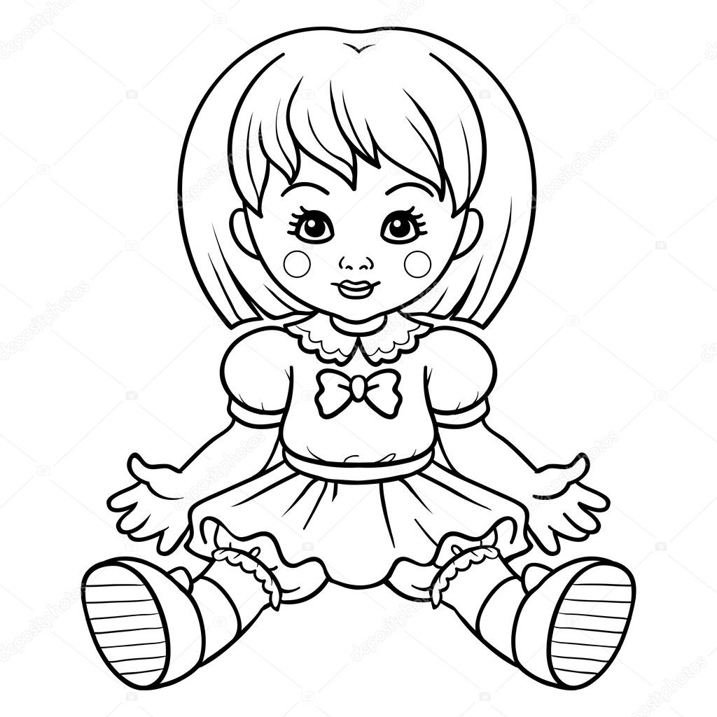 Pictures Baby Doll To Color