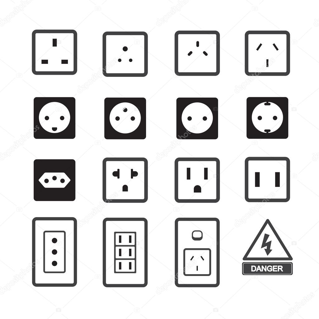 Electrical Plug Symbol | Wiring Diagram Database