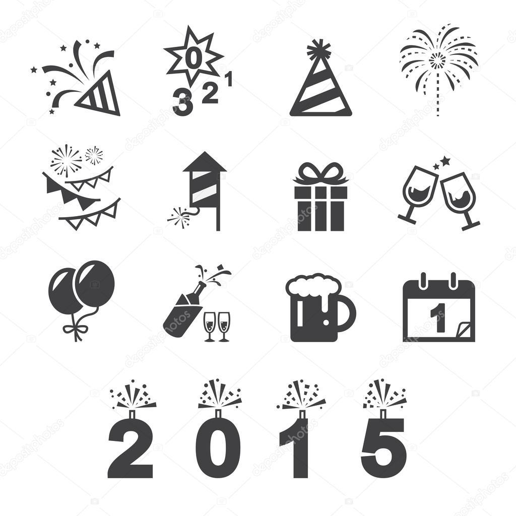 Gelukkig Nieuwjaar Pictogram