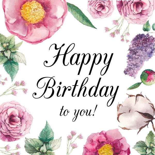 334 522 Happy Birthday Card Vector Images Free Royalty Free Happy Birthday Card Vectors Depositphotos