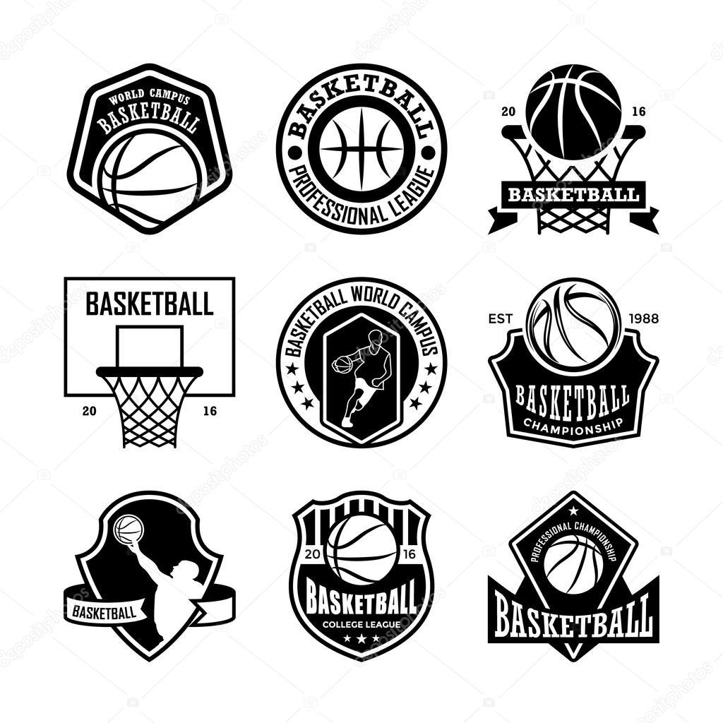 Basketball Vector Icons 3