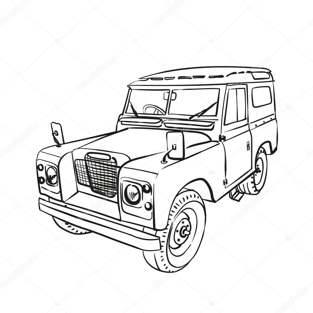 Vector Land Rover