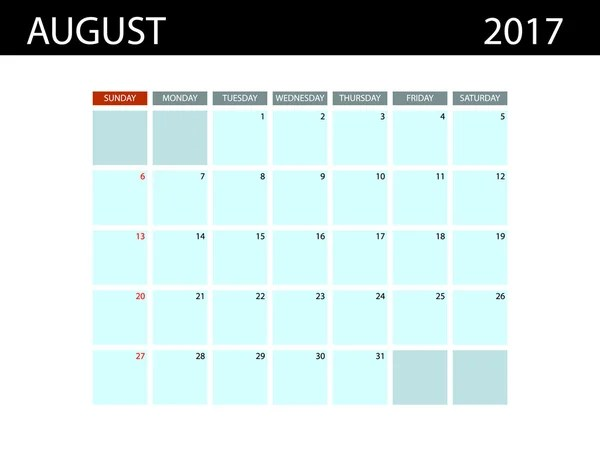 Set of Calendar Templates for June  July  August 2016  Week Starts     Calendar Templates for August 2017