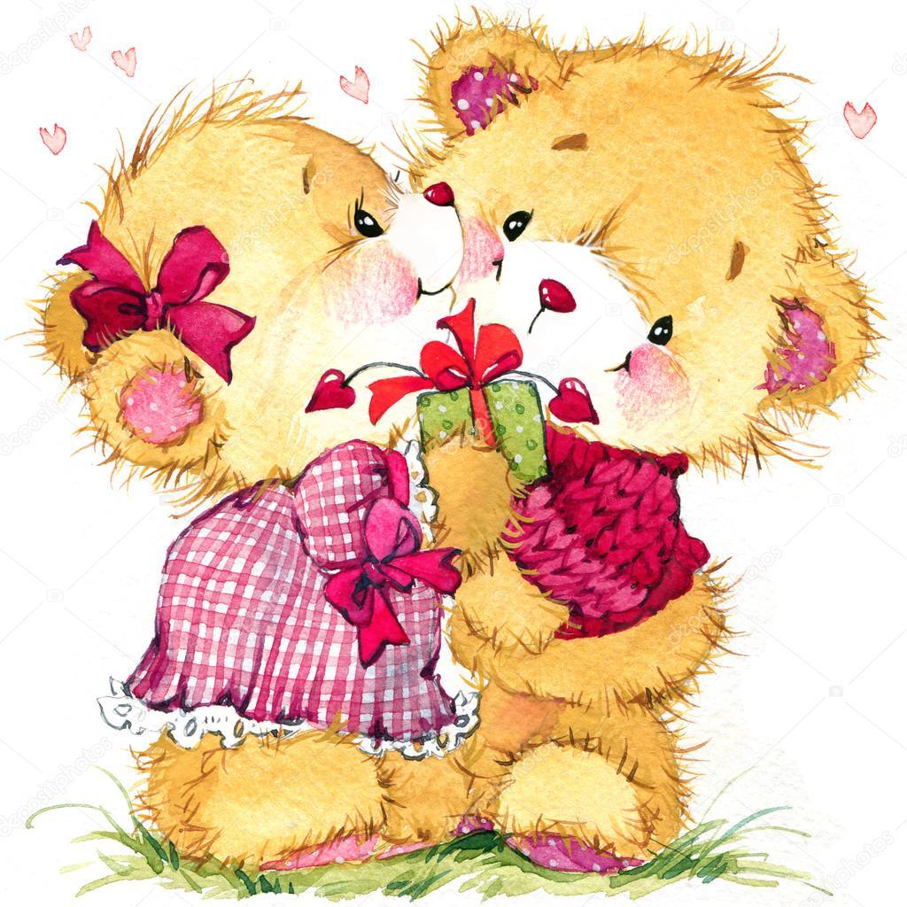 Cute Teddy Bears With Hearts Drawings Wwwimgkidcom