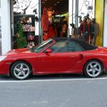 Red Convertible Porsche 911 Turbo Stock Editorial Photo C Kuki Goy 92585096