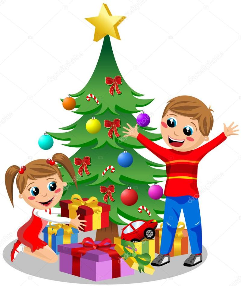 kids opening christmas gifts | Dealssite.co