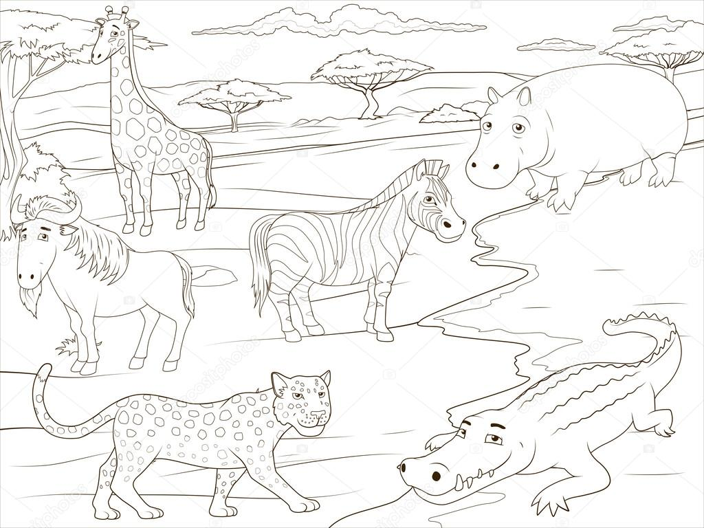 Gory Coloring Coloring Pages