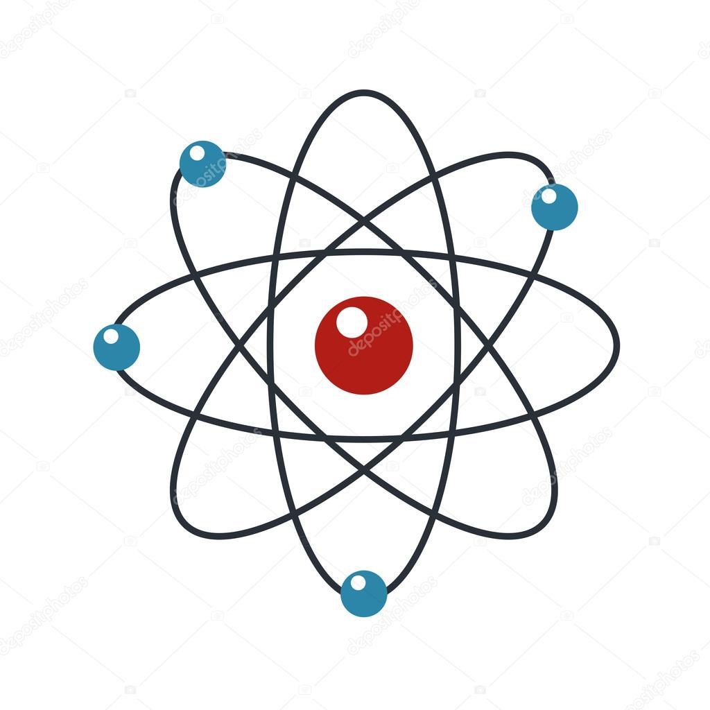 Icone Do Atomo Simples