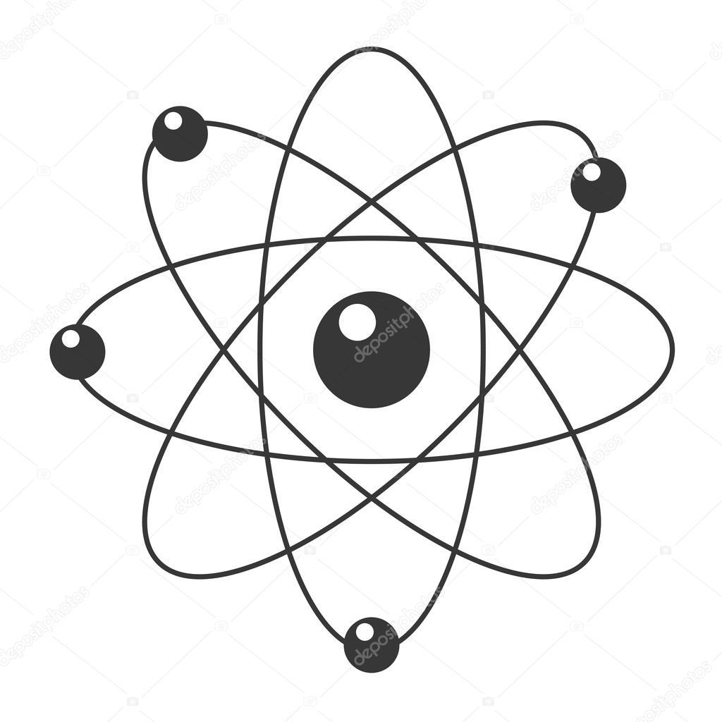 Icone D Atome De Dessin Anime