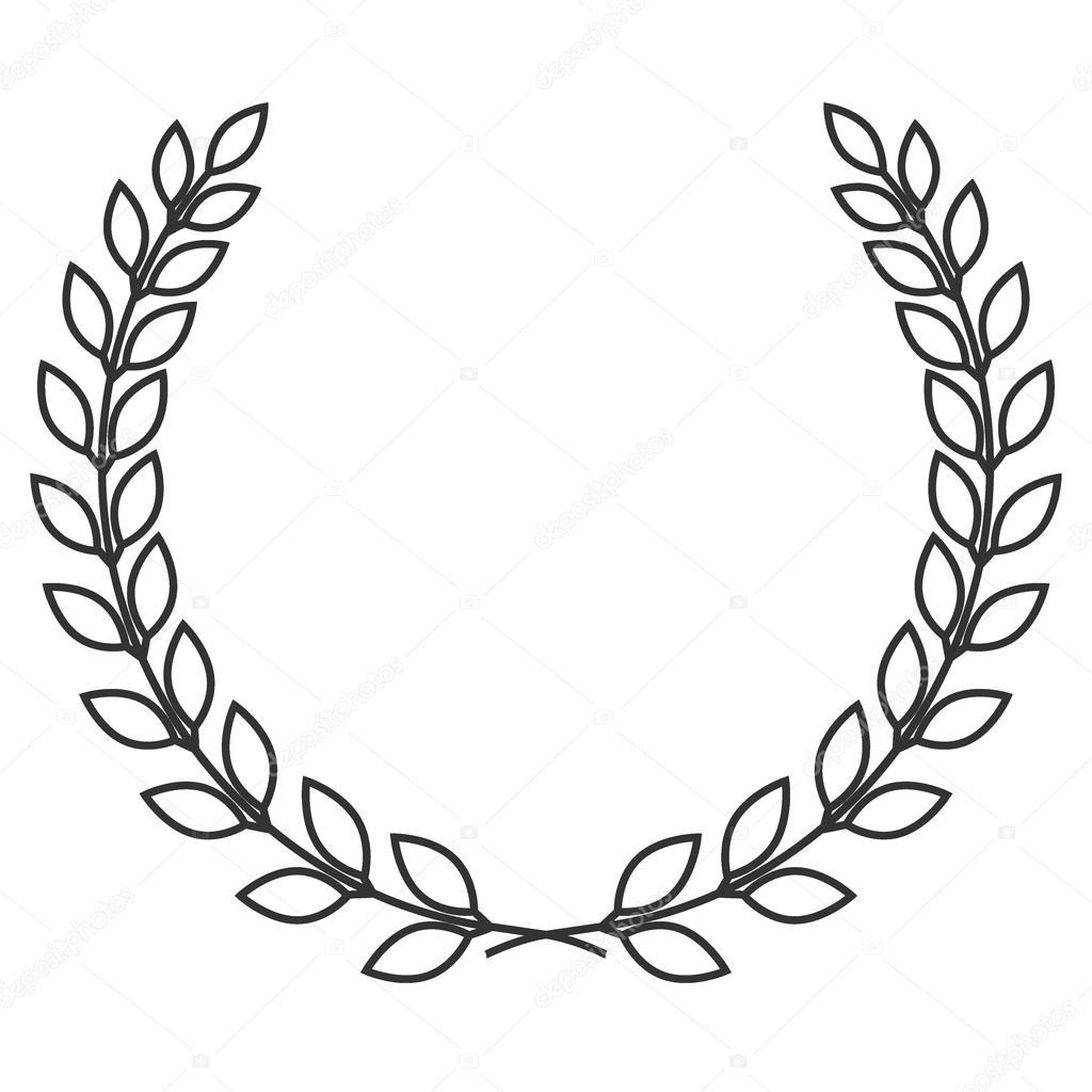 Simbolo Da Coroa De Louro