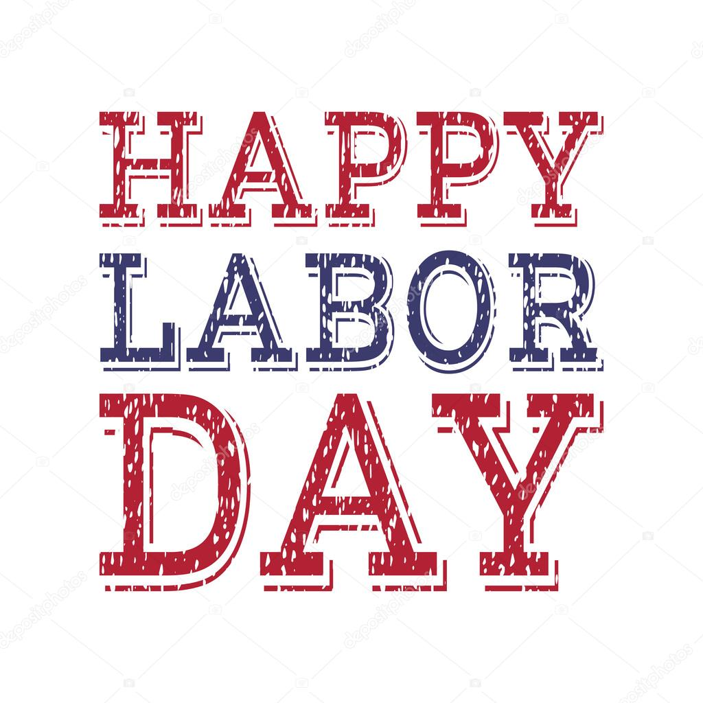 Happy Labor Day Poster Template