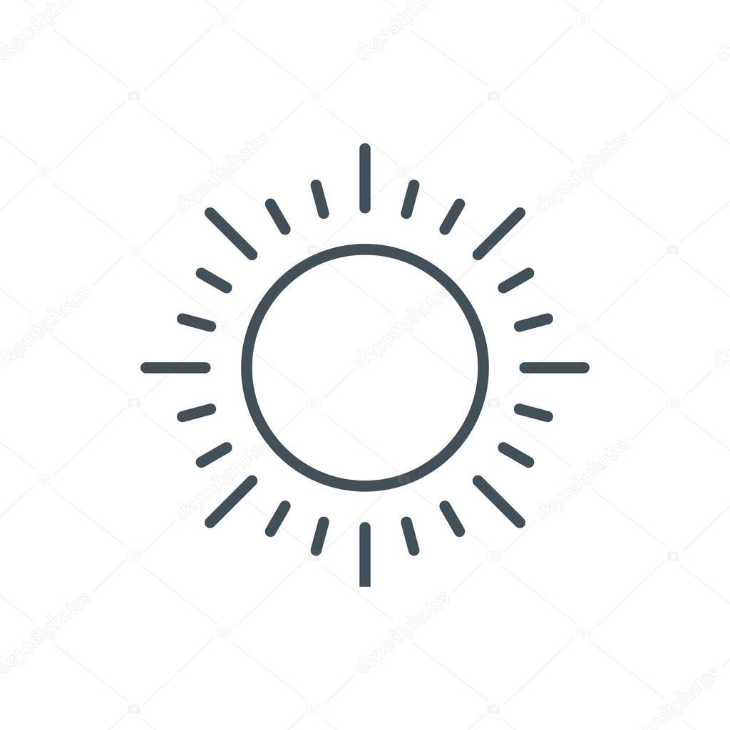 Zonne Energie Pictogram