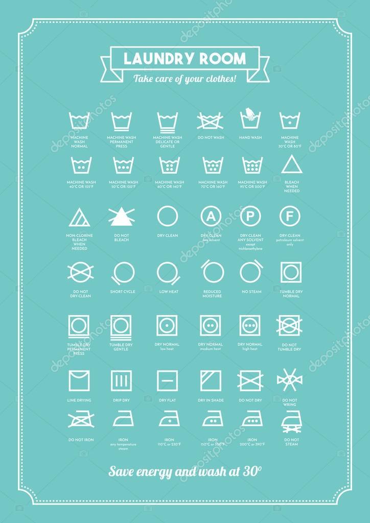 https depositphotos com 103548284 stock illustration laundry symbols poster html
