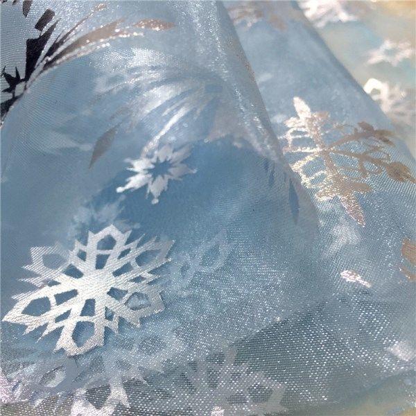 Терезені безендіру үшін PVA-дан снежинкалар жасау