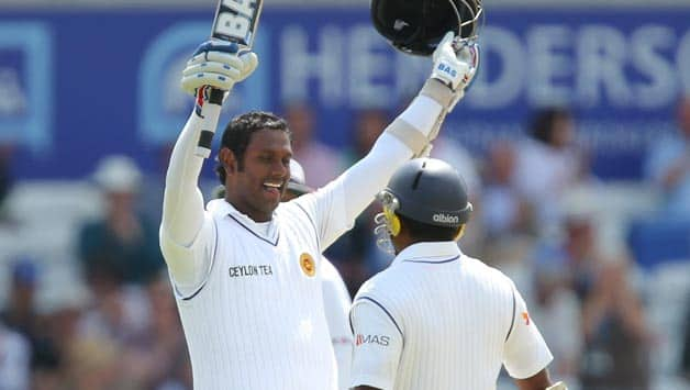 Image result for rangana herath and angelo mathews