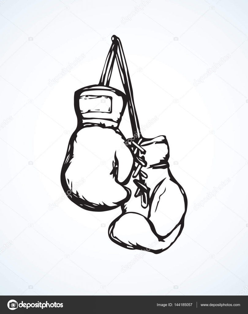 Gloves Draw Boxing Easy