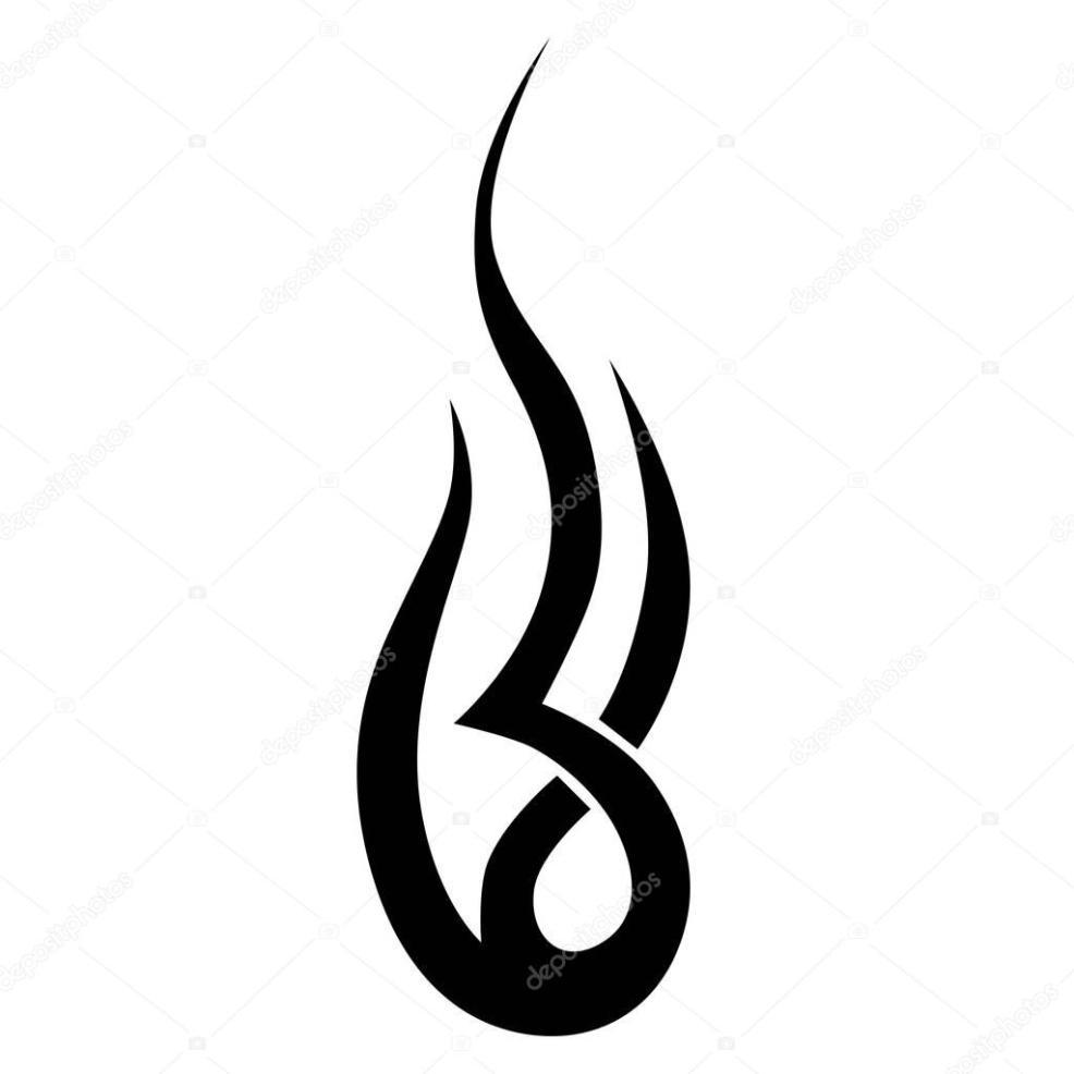 простые тату дизайн элемент векторное изображение 1rudvi 129805454