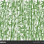 Bamboo Decorative Green Background Stylized Illustration Green Bamboo Decorative Background Stock Vector C Chachar 190546792
