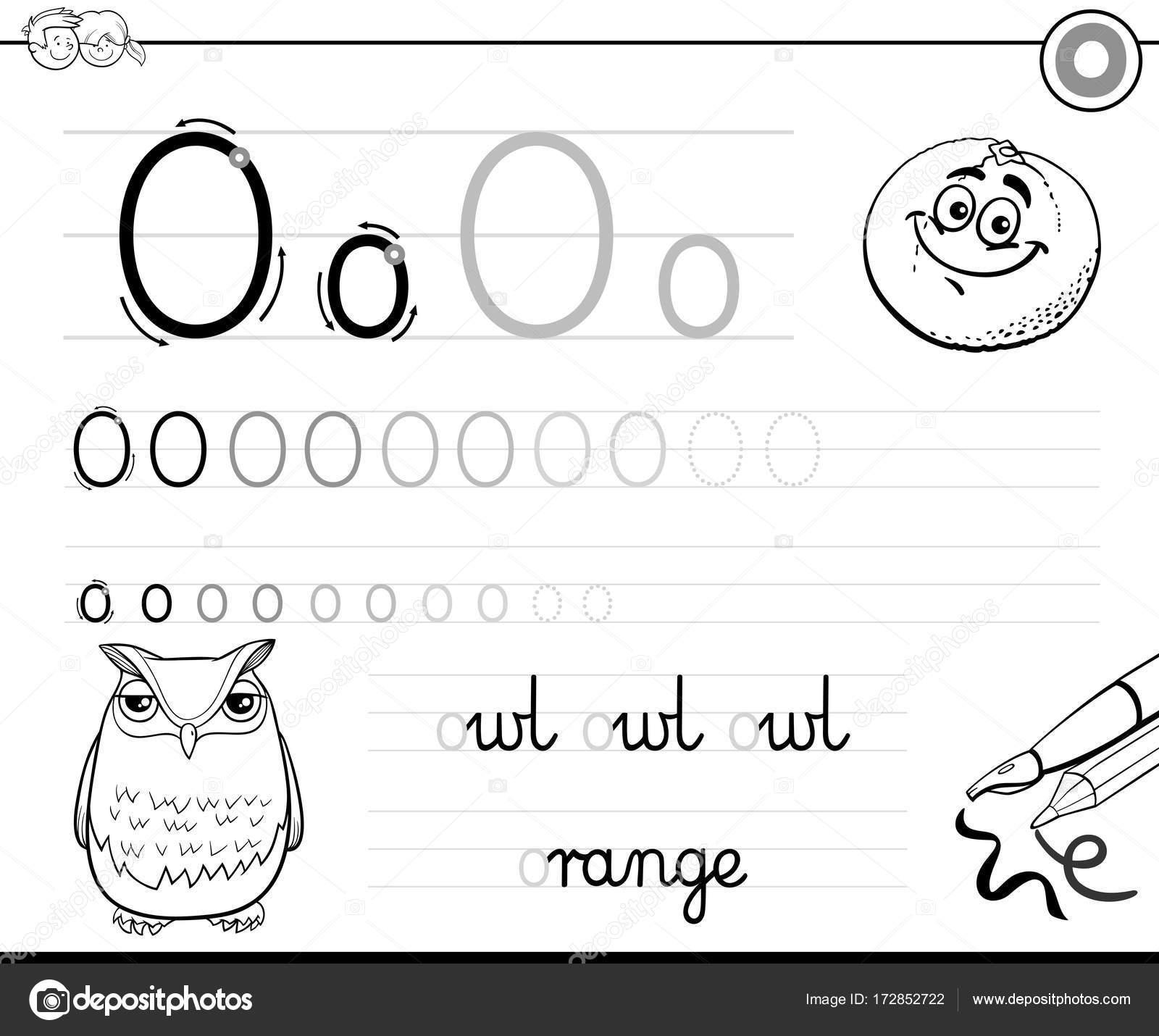 Preschool Worksheet Gallery Letter O Worksheets For Preschool