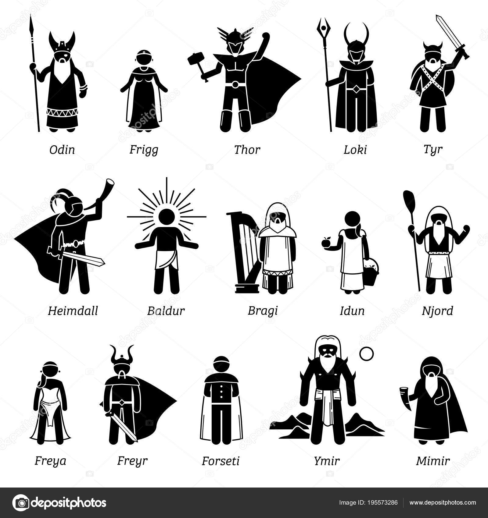 Pictures Viking Gods And Goddesses