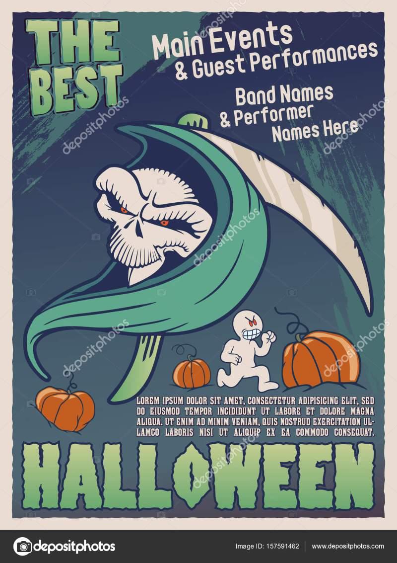 halloween characters names | cartooncreative.co