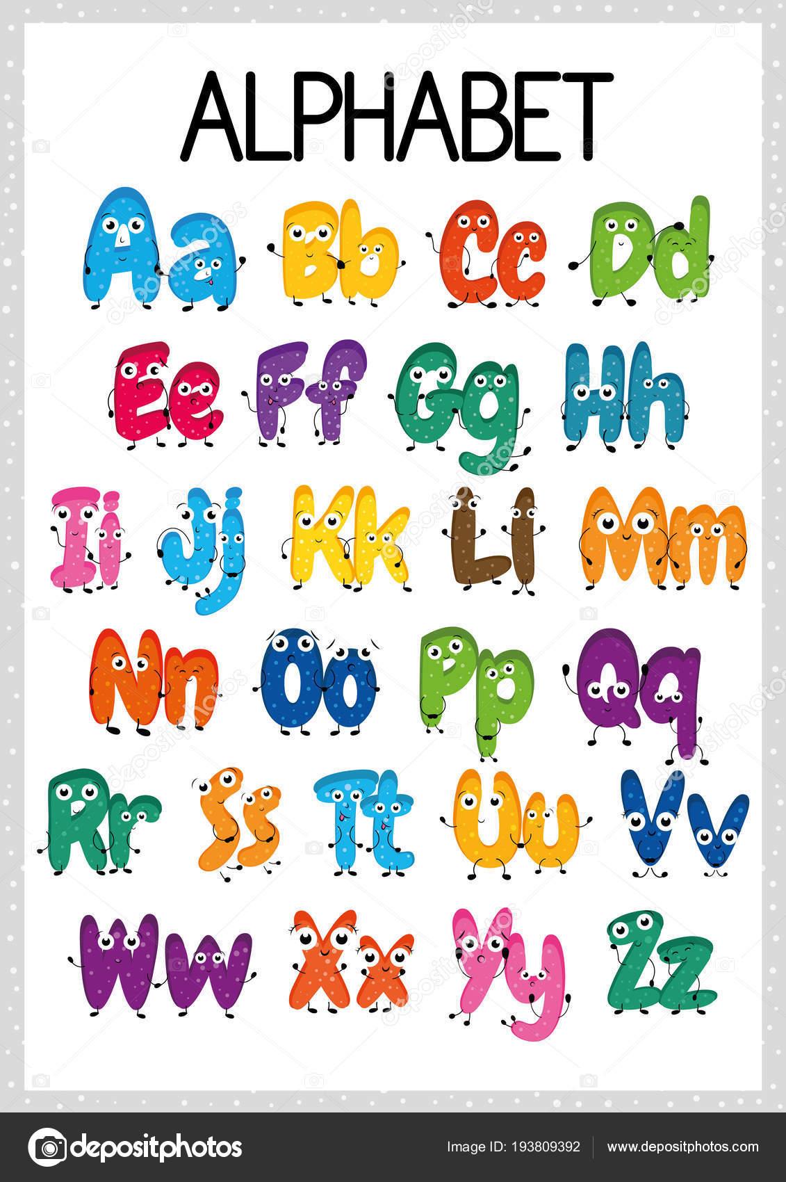 Alphabet Worksheet Exercises Kids Paper Ready Print