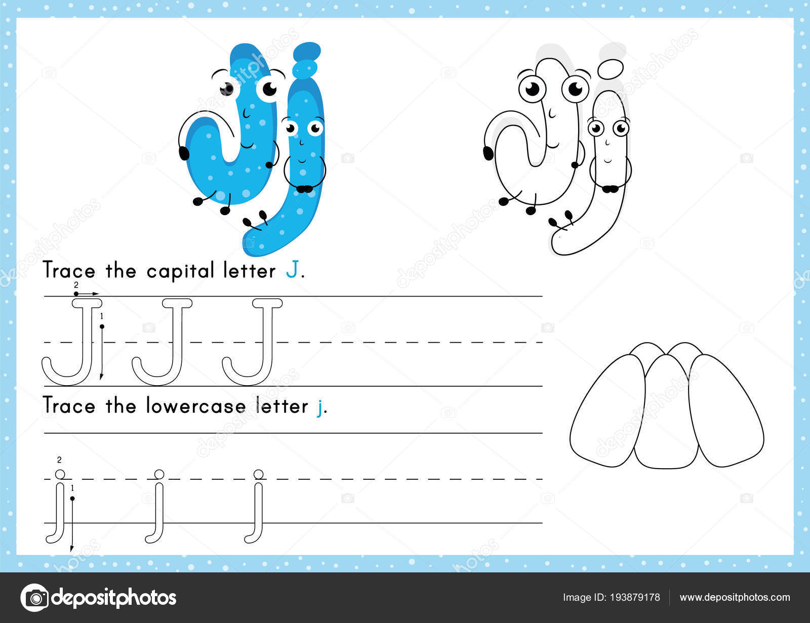 Alphabet Tracing Colouring Worksheet Writing Exercises